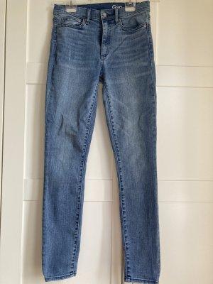 Gap Skinny Jeans azure-blue
