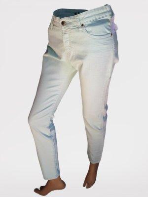 Gas Hoge taille jeans munt Katoen