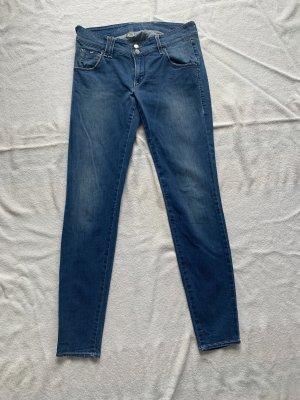 Gas Jeans skinny bleu