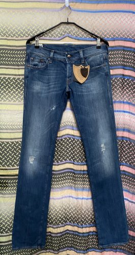 Hollywood Trading Company Boot Cut Jeans dark blue cotton