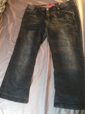 John Baner Boot Cut Jeans anthracite