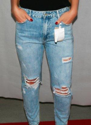 Jeans gerissen, Boyfriend/Jeans
