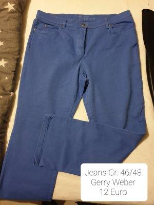 Gerry Weber Pantalón de cinco bolsillos azul acero