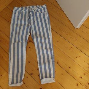 Jeans gestreift