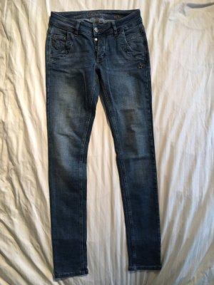 Jeans Glücksstern Petra W27 L30 Blau