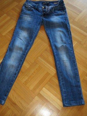 Jeans, Gr.30, blau