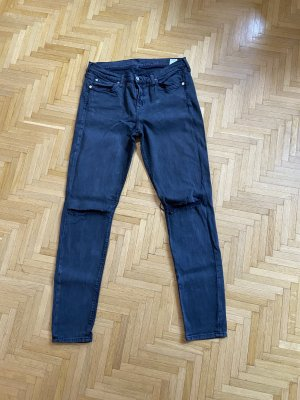 7 For All Mankind Jeans a sigaretta grigio scuro