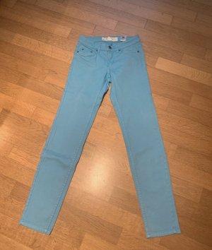 Jeans gr 34 H&M türkis enger schnittt
