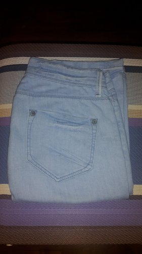 Hallhuber Boyfriend Jeans light blue