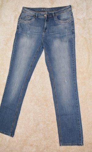 Charles Vögele Stretch Jeans light blue
