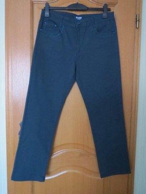 Jeans, Gr.42/44, petrol
