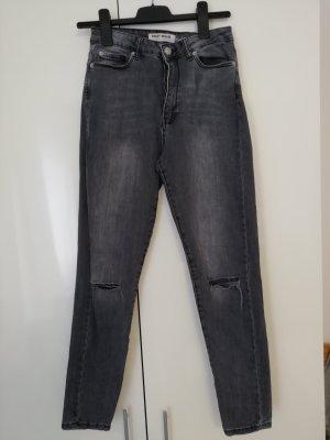 Jeans, grau