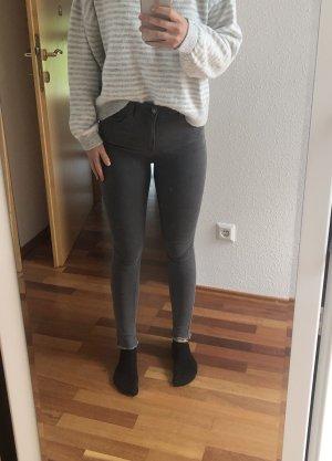 Jeans grau Denim