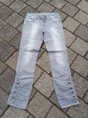 Jeans grau Gr 38 s.Oliver