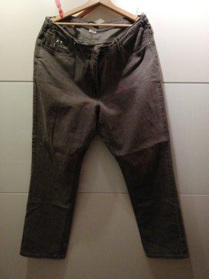 Jeans grau Oversized