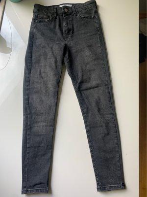 Jeans grau Topshop