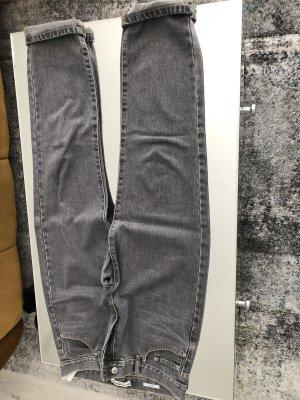 Jeans grau wide fit
