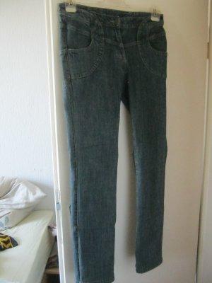 Kapalua Hoge taille jeans blauw