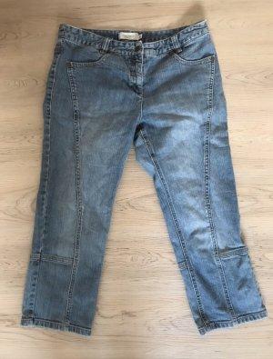 Bon'a Parte Pantalone Capri azzurro