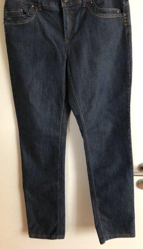 grain de malice Jeans stretch bleu foncé