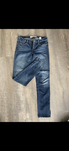 Abercrombie & Fitch Low Rise Jeans blue