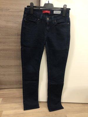 Guess Jeans cigarette bleu