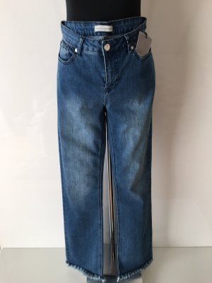 Guido Maria Kretschmer Stretch Jeans slate-gray-pale blue
