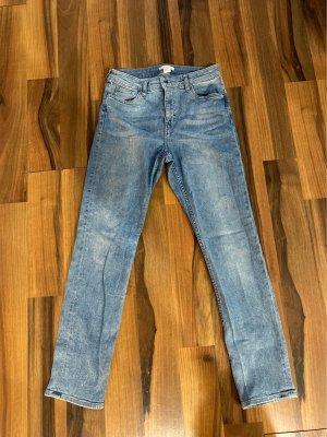 H&M Jeansy o kroju boot cut błękitny