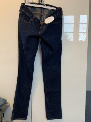 H&M Vaquero skinny azul-azul oscuro