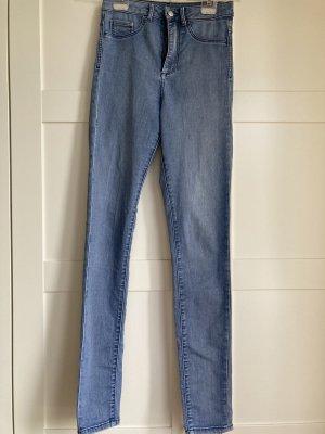 & DENIM Hoge taille jeans veelkleurig