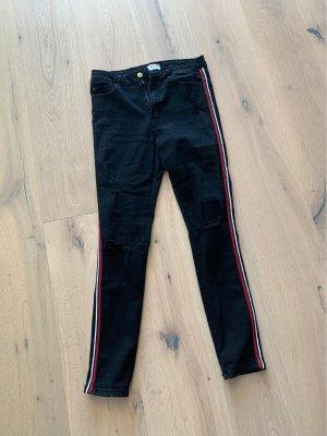 Hailys Tube jeans zwart
