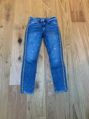 Jeans Hallhuber 36 Streifen