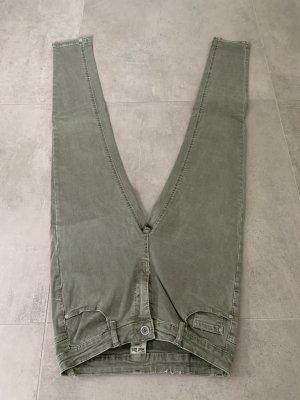 Jeans Hand Made Denim L Grün