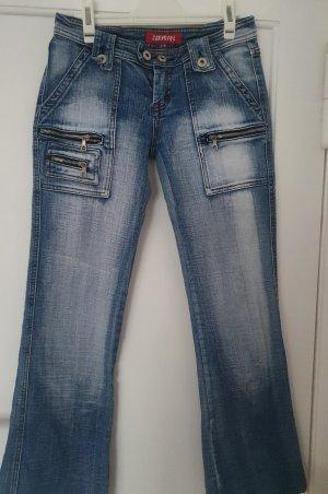 jeans helblau