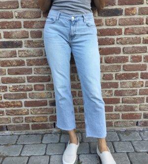 Mango Jeans 7/8 bleu clair