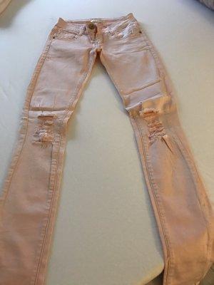 Best emilie Tube jeans lichtroze