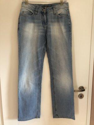 Blue Motion Jeans met rechte pijpen veelkleurig Katoen