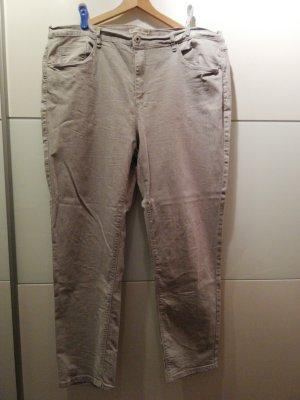 Jeans Hellgrau Oversized