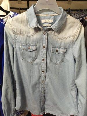C&A Denim Shirt cornflower blue