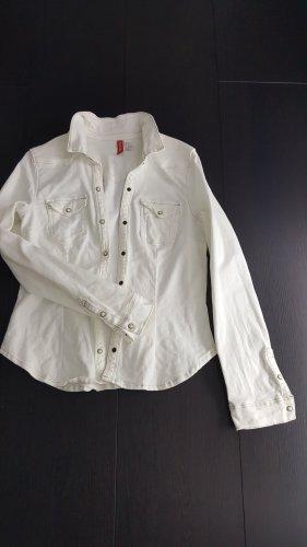 Spijkershirt wit
