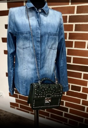 Vero Moda Jeansowa koszula niebieski