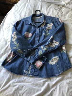 Liz Claiborne Denim Shirt blue