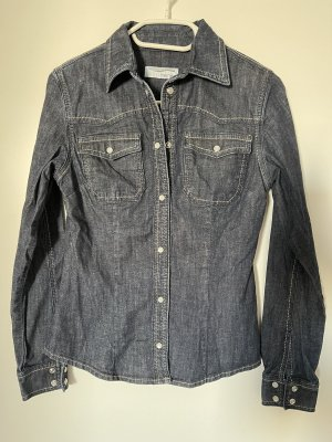 Heine Denim Shirt dark blue-anthracite