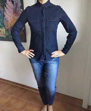Hugo Boss Jeansowa koszula ciemnoniebieski