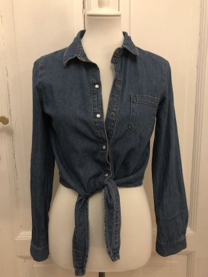 Noisy May Denim Shirt blue