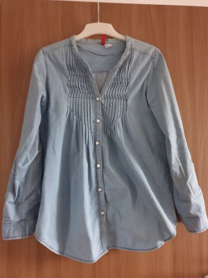H&M Divided Blusa denim azzurro