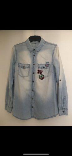 H&M Jeansowa koszula jasnoniebieski
