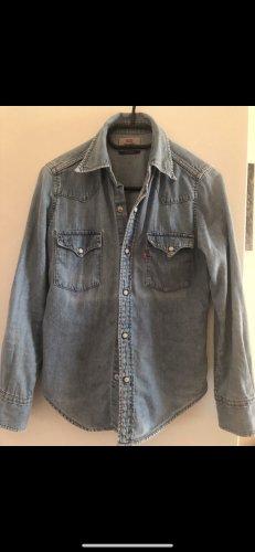 Levi's Chemise en jean bleu acier