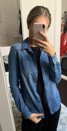 C&A Bluzka jeansowa Wielokolorowy