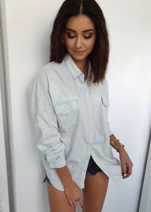 Jeansowa koszula jasnoniebieski
